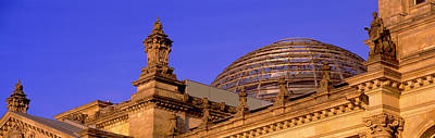 Glass Dome Reichstag Berlin Germany Art Print by Panoramic Images