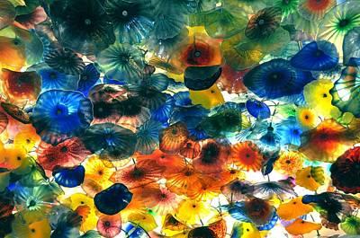 Glass Flowers Art Print by Ernesto Cinquepalmi