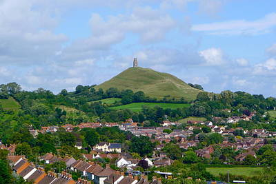 Photograph - Glastonbury From Wearyall Hill by Denise Mazzocco