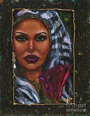 Art Print featuring the painting Glorious by Alga Washington