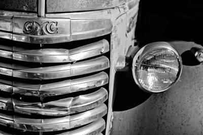 Photograph - Gmc Truck Grille Emblem by Jill Reger