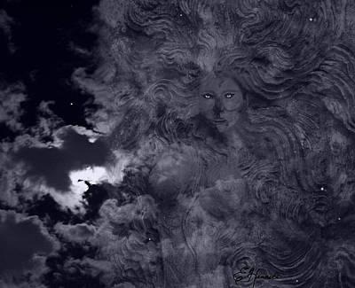 Goddess Vision Art Print
