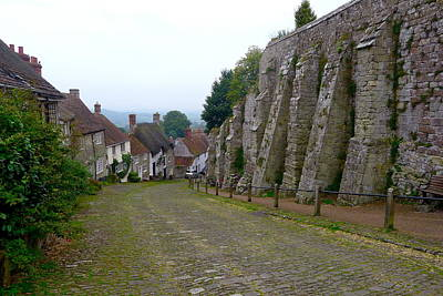 Photograph - Gold Hill In Shaftesbury by Denise Mazzocco