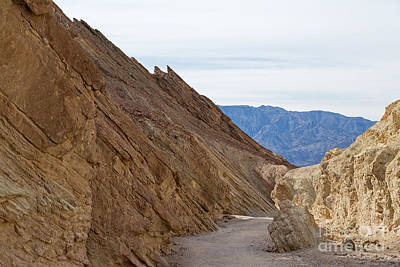 Photograph - Golden Canyon Death Valley National Park by Fred Stearns