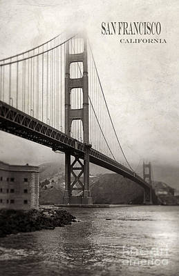 Photograph - Golden Gate Bridge by Jill Battaglia