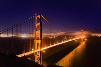 Photograph - Golden Gate by Kyle Simpson
