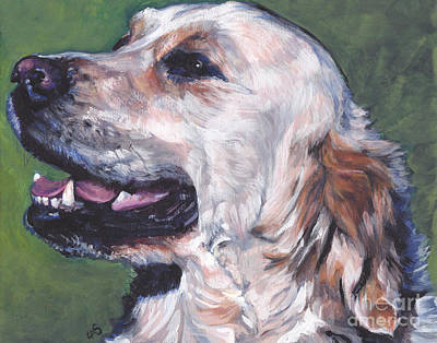 Painting - Golden Retriever by Lee Ann Shepard
