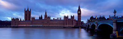 Romantic Location Photograph - Government Building At The Waterfront by Panoramic Images