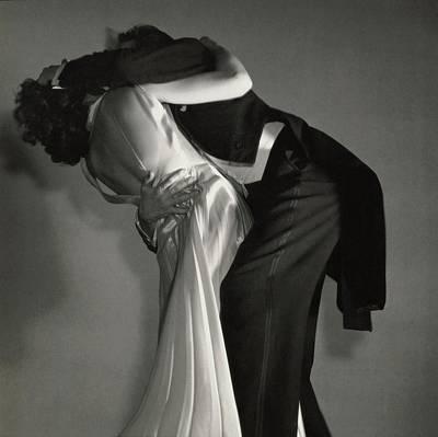 Photograph - Grace And Paul Hartman Dancing by Edward Steichen