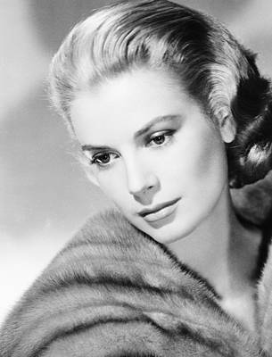 Grace Kelly, Mgm Portrait, Mid-1950s Art Print