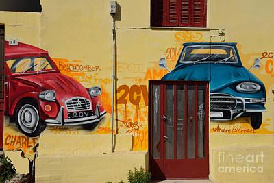 Craft Photograph - Graffiti On A Wall by George Atsametakis