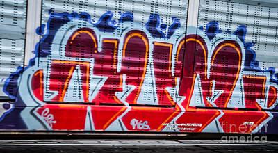 Photograph - Graffiti 1 by Ronald Grogan