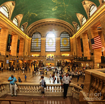 Photograph - Grand Central Station by Gregory Dyer