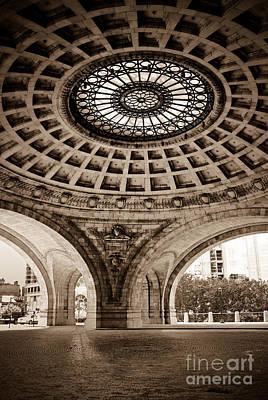 Grand Rotunda Pennsylvanian Pittsburgh Art Print by Amy Cicconi