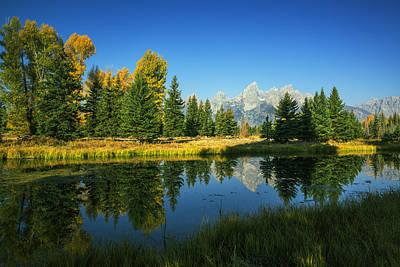 Photograph - Teton Autumn by Vishwanath Bhat