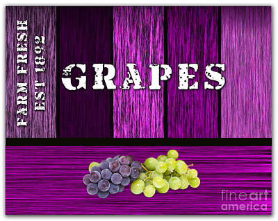 Grape Farm Art Print by Marvin Blaine