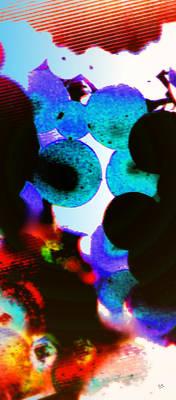 Purple Grapes Digital Art - Grapes by Marcello Cicchini