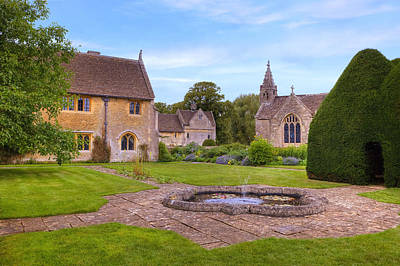 Wiltshire Photograph - Great Chalfield Manor by Joana Kruse