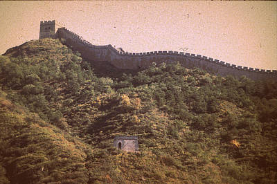 Photograph - Great Wall Of China by John Warren