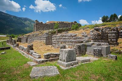 Zeus Photograph - Greece. Ruins Of Ancient Dodoni by Ken Welsh