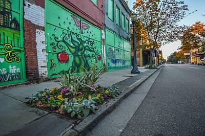 Digital Art - Green Art On Dauphin  by Michael Thomas