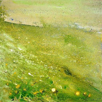 Painting - Green Field  by Tanya Byrd