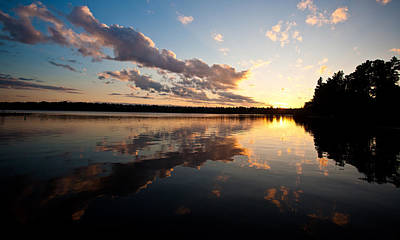 Northwest Photograph - Greenlake Sunset by Mike Reid
