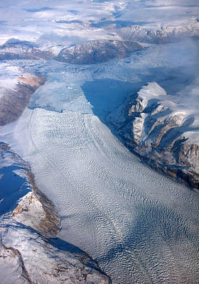 Photograph - Greenland Glacier by Pierre Leclerc Photography