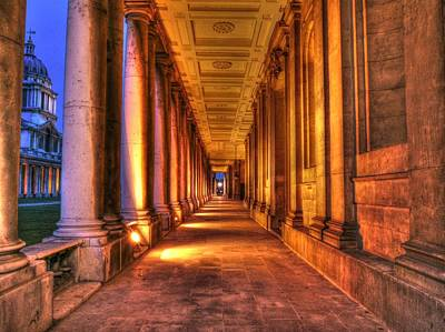 Greenwich Royal Naval College Hdr  Print by David French