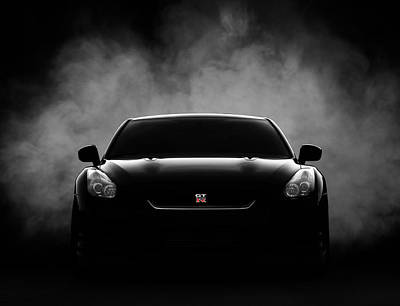 Cars Wall Art - Digital Art - GTR by Douglas Pittman