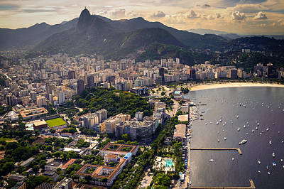 Photograph - Guanabara Bay by Celso Diniz