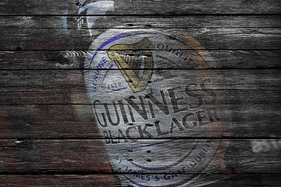 Handcrafted Photograph - Guinness by Joe Hamilton