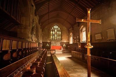 Guisborough, England  Interior Of Chapel Art Print