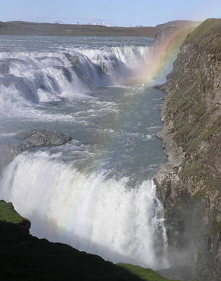 Photograph - Gullfoss by Olaf Christian