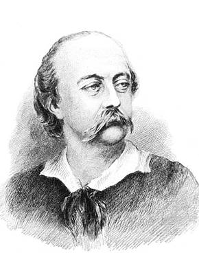 Gustave Flaubert Wall Art - Photograph - Gustave Flaubert, French Author by Science Source