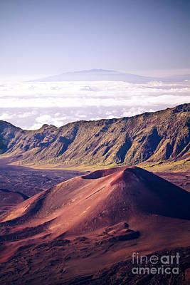 Photograph - Haleakala Sunrise On The Summit Maui Hawaii - Kalahaku Overlook by Sharon Mau
