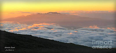 Photograph - Haleakala Sunset by Joan  Minchak
