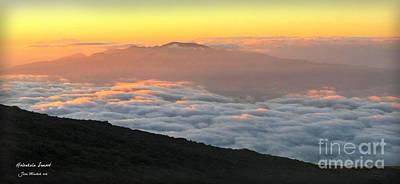 Haleakala Sunset Art Print by Joan  Minchak