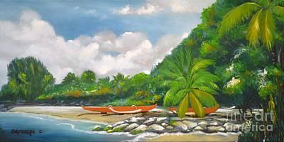 Haleiwa Art Print