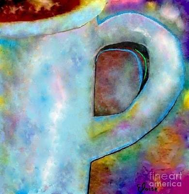 Lilac Painting - Half A Cup Please by Eloise Schneider