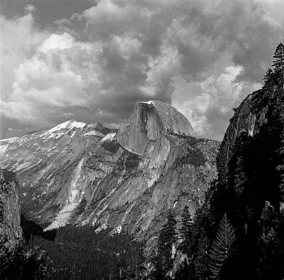 Half Dome From Four Mile Art Print by Chris Martin