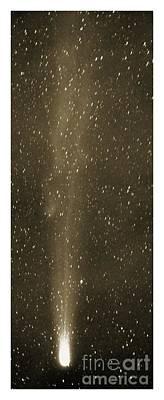 Halleys Comet In May 1910 Art Print by Detlev van Ravenswaay