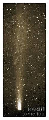 Speculation Photograph - Halleys Comet In May 1910 by Detlev van Ravenswaay