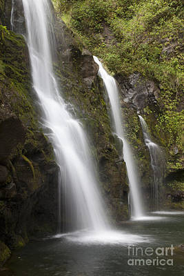 Photograph - Hana Waterfall by David Olsen