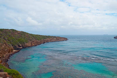 Photograph - Hanauma Bay Oahu Island Hawaii by Marek Poplawski