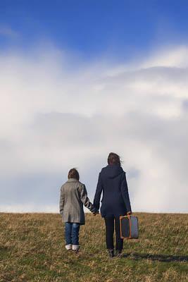 Family Love Photograph - Hand In Hand by Joana Kruse