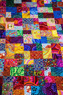 Hand Made Quilt Art Print by Sherman Perry