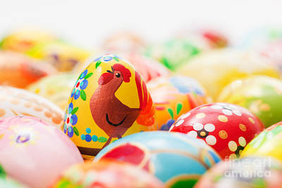 Ornamental Photograph - Handmade Easter Eggs Collection by Michal Bednarek