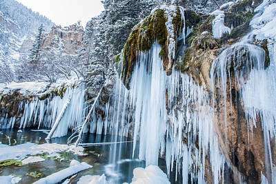 Photograph - Hanging Lake by Tom Cuccio