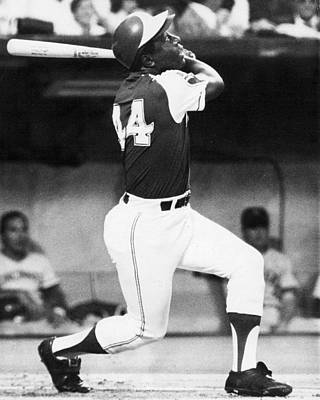 Hank Aaron Art Print by Retro Images Archive